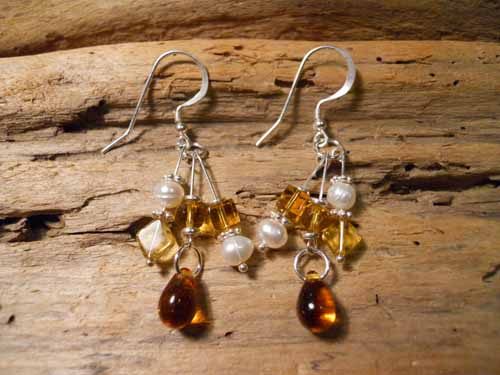 Amber Sky Earrings