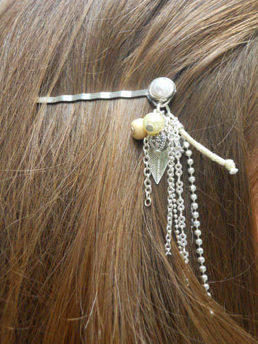 Chained Hair Pins