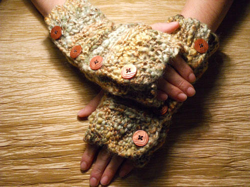 Chunky Coppered Colored Hand Warmers