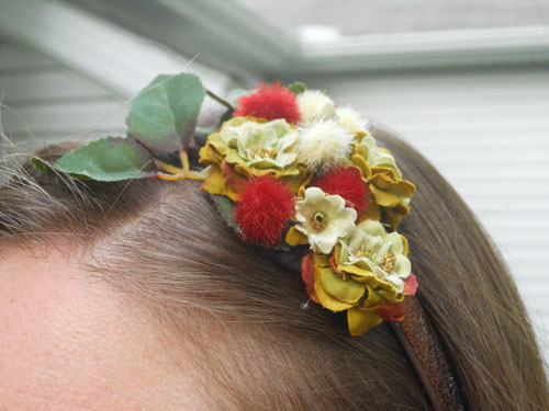 Flowers & Berries Headband