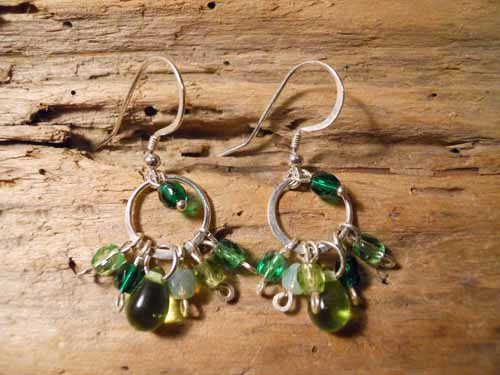 Lush Green Earrings