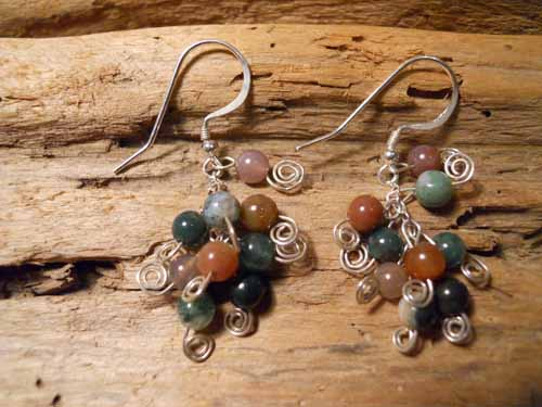 Shades of Jasper Earrings
